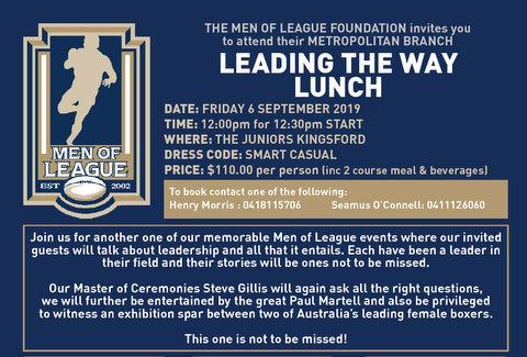 2019 men of league function 1